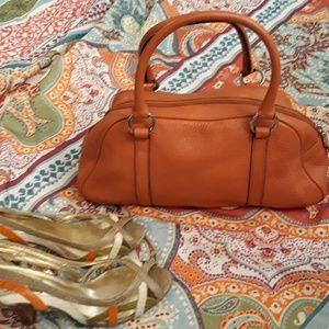Talbots Coral Satchel bag